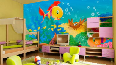 Photo of Unique Wall Decoration Ideas for Kids Room